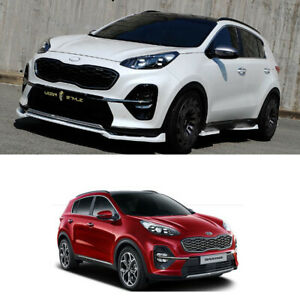 Front Side Rear Body Kits Polyurethane Unpaint For Kia Sportage 2019 2020