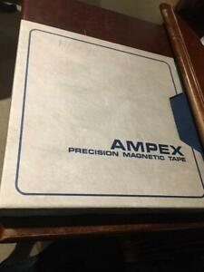 Ampex Precision Magnetic Tape New 1 2 Inch