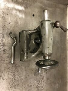 South Bend 10l Heavy 10 Metal Lathe Tailstock With Clamp And Wrench
