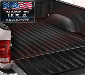 2018 2007 Chevy Silverado 3500 Hd Truck Cargo Bed Mat Rubber Liner Protector