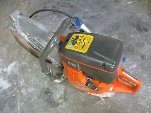 Husqvarna 14 K760 Power Cutter Concrete K Saw Gas Blade Tested