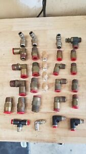 Nycoil Pneumatic Press Connect Fittings 1 2 3 8 1 4