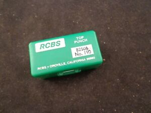 RCBS LUBE A MATIC 190 CAST LEAD BULLET LUBE SIZER TOP PUNCH ALSO FITS LYMAN 450