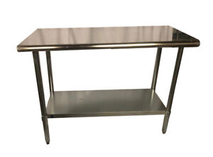 Commercial Stainless Steel Food Prep Work Table 30 X 60 Nsf