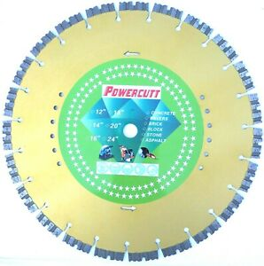 14 New Laser Shark sharp Diamond Saw Blade 4 Cured Concrete Slate Paver best
