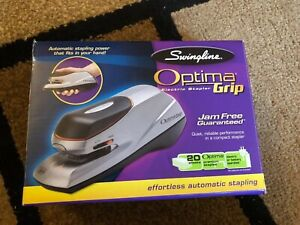 Swingline Optima Grip Electric Half Strip Stapler Swingline Optima New 48207