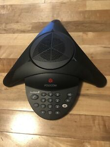 Polycom 2200 07800 160 Soundstation2w Ex Dect 6 0 Wireless Conference Phone Used