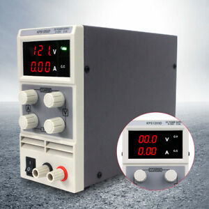 New Kps1203d Adjustable Switch Dc Power Supply Output Double Display Ac110v