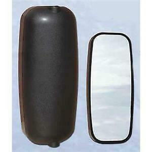 Aerodynamic Mirror Head Single Vision Black Plastic