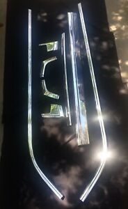 1972 To 1979 Ford Ranchero Bed Trim Mouldings 8 Piece Set Show Condition