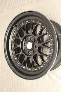 2000 00 Honda Civic Si Em1 B16 Oem Aftermarket Wheel 16x8 47 Offset 1 1 9299