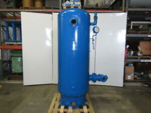 Morrison Bros 475 Gallon Vertical Compressed Air Receiver Storage Tank 125 Psi