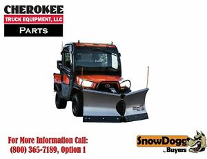 Snowdogg Buyers Products Vut65 Utv V Plow 78 Blade Width