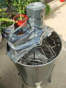 3 Frame Electric Honey Extractor Stainless Steel Beehive Drum Bee 110v Farm