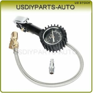 160 Psi Digital Tire Inflator With Pressure Gauge Air Chuck For Motorcycle