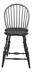 48069ec Dr Dimes Country Green Crackle Finish Windsor Chair