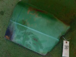 John Deere 1020 Utility Tractor Left Hand Battery Panel Tag 187