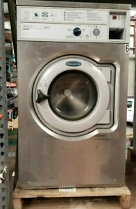 Wascomat W620 Front Load Washer 208 240 3ph S n 005200073457 refurbished