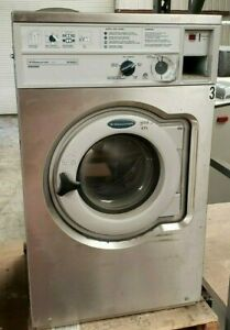 Wascomat W620 Front Load Washer 208 240 3ph S n 005200034284 refurbished