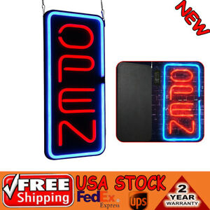 Bright 23 6 x11 8 Vertical Neon Open Sign 30w Led Light Window Bar Game Rooms