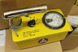 Lionel Cdv 700 Geiger Counter Model 6b Civil Defense Radiation Detector