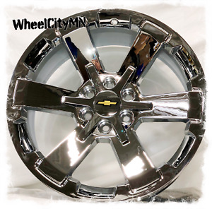 24 Inch Chrome 2018 Chevy Silverado Rally Oe Replica 5662 Wheels Tahoe 6x5 5