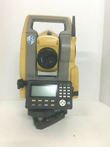 Topcon Es 103 Total Station Surveying Equipment