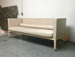 Philippe Starck Rare Large Neoclassical Couch From The Clift Hotel