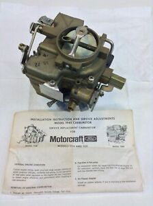 Nos Holley 1940 Carburetor R4536 1963 1964 Ford Cars Truck Industrial 223 Engine