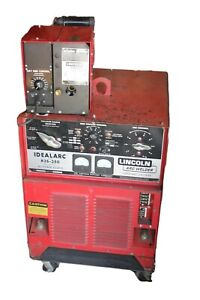 Lincoln Idealarc Mig Welder 3 Phase R3s 250 Dc Power Source W Ln 7 Gma Control