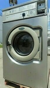 Wascomat W620 Front Load Washer 208 240 3ph S n 005950015728 refurbished