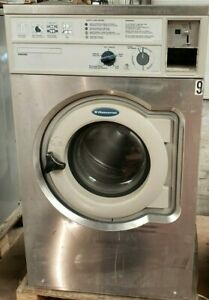 Wascomat Front Load Washer Coin Op 20lb 208 240v 3ph S n 00520 0037928 ref