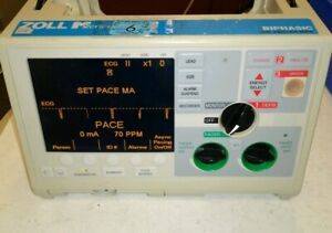 Zoll M series Biphasic Monitor 3 Lead Ecg Aed Pacing Analyze