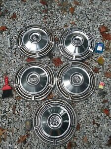 1968 Chevrolet Ss 396 Hub Caps 14 Set Of 4 Xtra 1 To Spare Chevy Wheel Covers