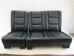 03 Mercedes W463 G500 G55 Seats Rear Left And Right Black