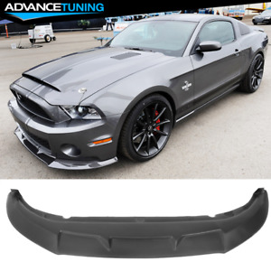 Fits 10 14 Mustang Shelby Gt500 Factory Style Front Bumper Lip Chin Spoiler Pp