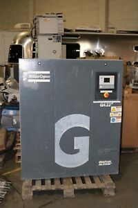 Working Atlas Copco Ga22p Rotary Screw Air Compressor