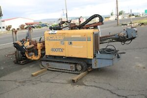 Case Boring Machine Directional Drill 400tx 1768 Hours