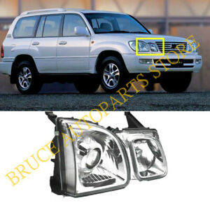 Right Hand Side Searchlight Chrome Hid Headlight 1pc K For Lexus Lx470 1998 2002