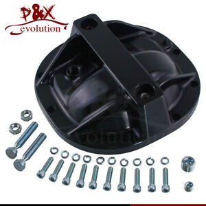 Billet Rear End Differential Cover Stud Girdle Satin For 79 14 Ford Mustang 8 8