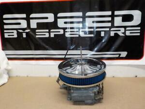 Spectre 47708b Chrome Air Cleaner 9 X 2 Washable Filter Fits Holley Carb