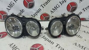00 02 Mercedes W215 Cl500 Cl55 Left And Right Headlight Head Lamp Xenon Set