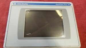 Allen Bradley Panelview Plus 700 Touch Screen 2711p rdt7c Ser C Scratched