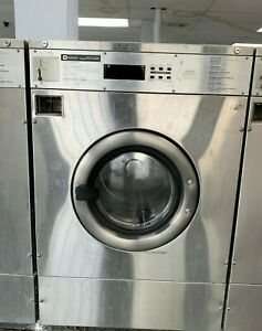 Maytag Front Load Washer 35lb Coin Op Stainless Steel S n 21003218ep used