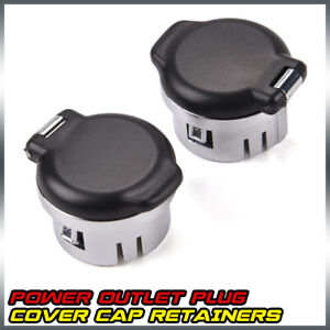 New Dash Power Outlet Cover Set For 2007 2013 Silverado Sierra Tahoe 20983936