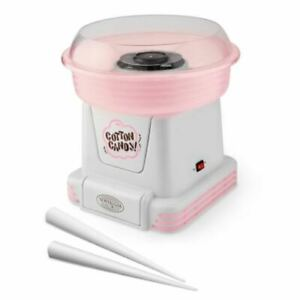 Nostalgia Pink Countertop Cotton Candy Maker Kids Birthday Party Props Children
