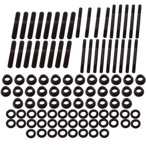 Cylinder Head Stud Kit For Chevy Sbc 305 327 400 350 Small Block 134 4001