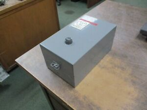 Westinghouse Enclosed Size 00 Starter A200mabr 120 240v Coil 9a Used