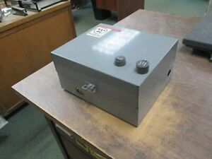 Westinghouse Enclosed Size 00 Starter A200macx 120v Coil 9a Used