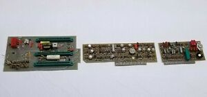 Lot Of 3 Vintage Hp Circuit Boards 03445 66501 03445 66505